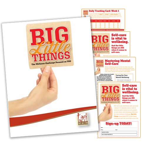 Big Little Things Challenge Kit